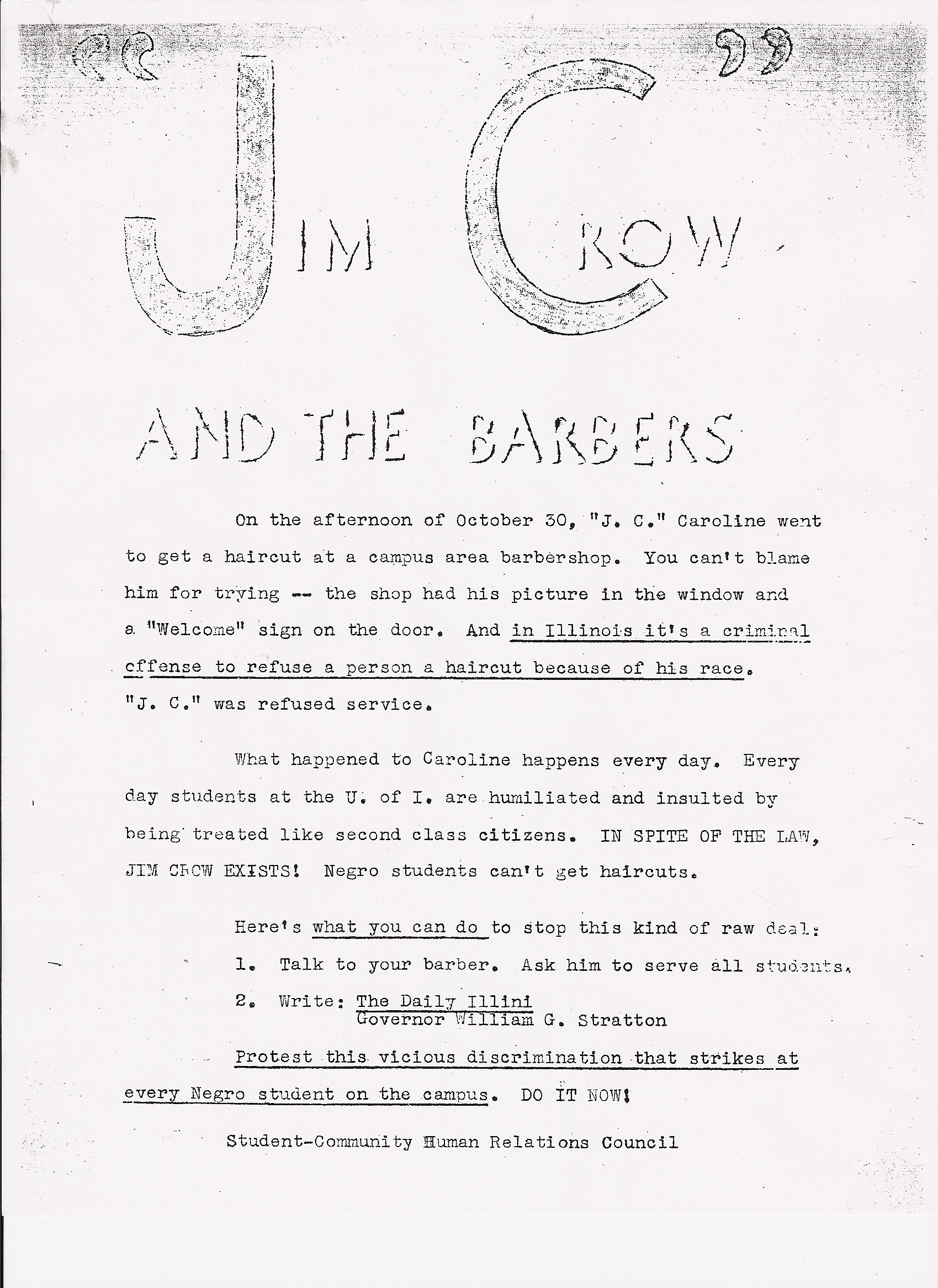 american history teachers collaborative lesson plan the flyer jim crow and the barbers